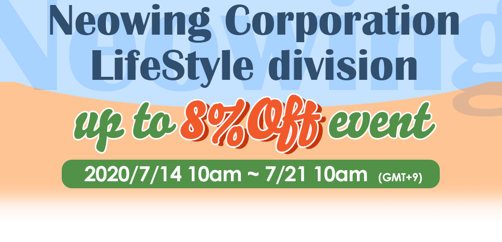 Neowing Corporation LifeStyle Division up to 8% off