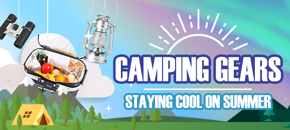 Camping Gears: staying cool on summer