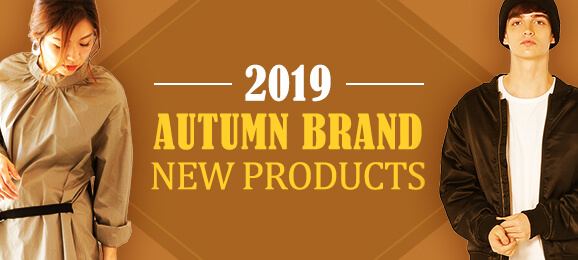 2019 Autumn Brand New Products