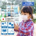 Virus Patent Processing Effect Non-woven Cloth Mask Child
