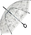 Transparency AL Vinyl Umbrella Transparency Hand