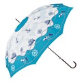 Jean Stick Umbrella Marine Scarf
