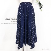 Small Dot Switching Regular Skirt
