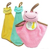 Loop Mascot Towel Frog