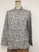 Floral Pattern Shirt Blouse