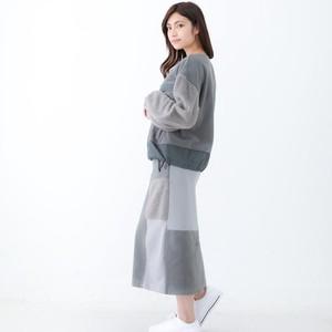 2021 新作 4素材切替スカート スカート