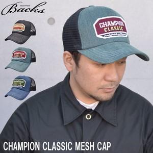 チャンピオン クラシック ワッペン メッシュキャップ 2サイズ Mサイズ XLサイズ
