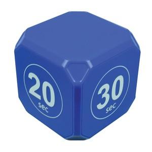タイムキューブ 秒 キューブ型プリセットタイマー 10/20/30/60秒 ブルー