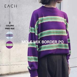 MOLE MIX BORDER PO ニット 2020秋冬