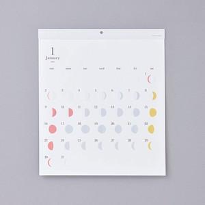 2022年版 月の満ち欠けカレンダー ミチル リプラグ 日曜始まり 日本製