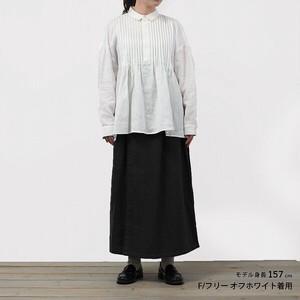 【2021秋冬新作】ピンタックブラウス