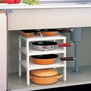 Kitchen 3 Steps Free Rack