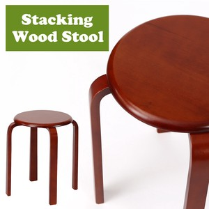 Wooden Chair Wooden Natural Wood 2 Colors