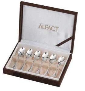 Silver Lian Coffee Spoon Set