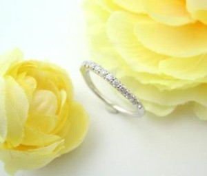 Silver 925 Wave Tea Ring