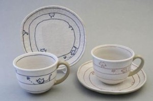 Everyday Play Cat Coffee Plate