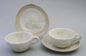 Everyday Petit Floret Coffee Plate