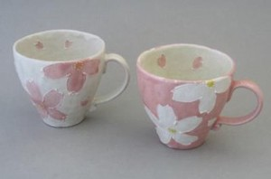 Feel Season Flower Pair Mag Cups