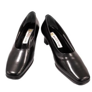 Genuine Leather Formal Pumps