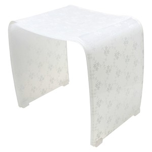 Merletto Chair Acrylic Lace Bath Product Bath Chair