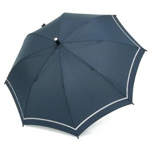 Kids Plain for School Stick Umbrella Navy