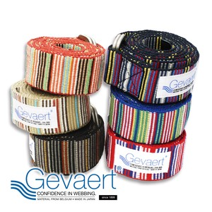 Ring Multi Stripe Belt