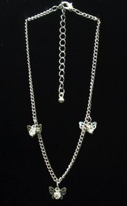 Anklet Rhinestone Attached