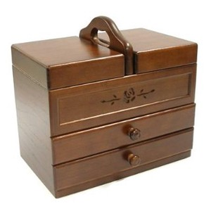 Wooden Sewing Box