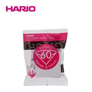 『HARIO』01用 V60用ペーパーフィルター酸素漂白01 100枚入り VCF-01-100W HARIO(ハリオ)
