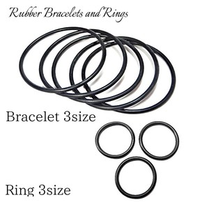 Rubber Bracelet Ring