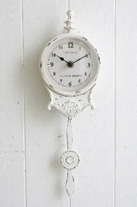 pen White Clock