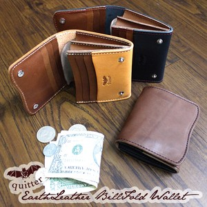 Tochigi Leather Earth Leather Ford Wallet Maid Japan