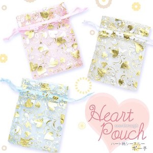 Heart Pouch 50 Pcs set Contents