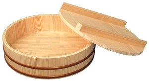 Natural Wood Sushi With Lid