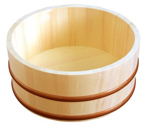 Natural Wood Washbowl