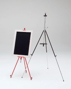 Steel Easel Trolley Bag Attached