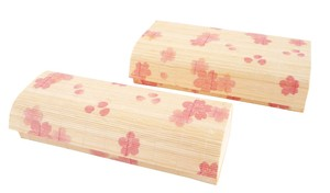 Bento Sakura Autumn Colors Japanese Pattern