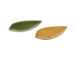 Plate Green Natural Production Plate Decoration Plate