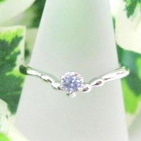Silver 925 Birthstone Ring Tanzanite