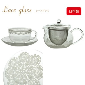 Doily Lace Heat-Resistant Glass