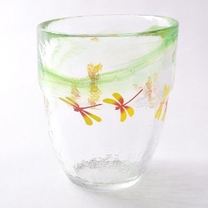 Tsukiyono Kobo Seifu Impression Glass Collection Dragonfly