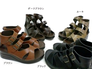 New Color S/S Sandal Genuine Leather 2 Pcs Belt Natural Boots Sandal