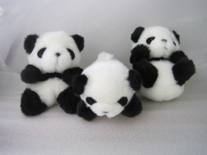 Petit Panda Bear Soft Toy