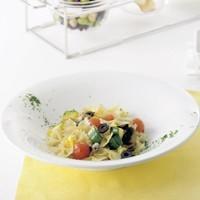 【パスタの盛り付けに】ワイドリムプレート[Pasta]