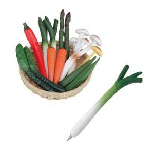 ★大人気 ! !新鮮野菜のボールペン♪♪【VEGGIE PEN】ベジーペン★おもしろステーショナリー