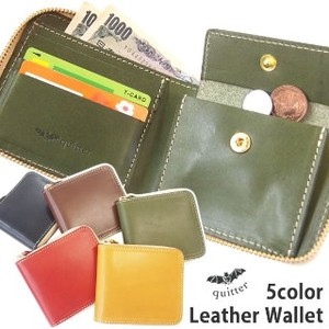 Tochigi Leather Round Leather Ford Wallet Made in Japan