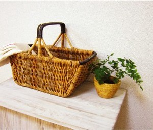 Handle Basket Natural Antique
