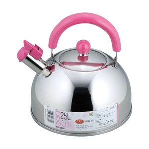 Candy IH Supported Kettle 2.5 Pink