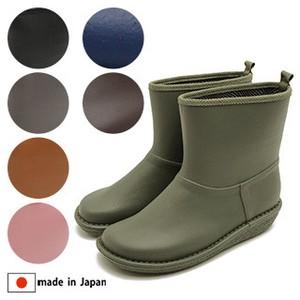 【2020新入荷】日本製/made in japan 突然の雨にも安心♪ラバーブーツ/ショート丈レインブーツ