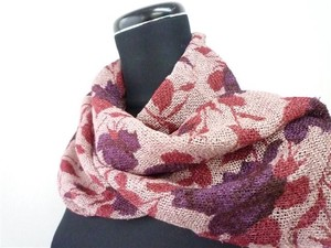 [2019NewItem] Exotic Color Scheme rose Print Scarf Material Craft